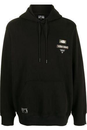 Izzue Men Sweatshirts - Logo print hoodie