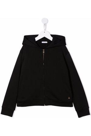 Dolce & Gabbana Boys Hoodies - Longsleeved zip-up hoodie