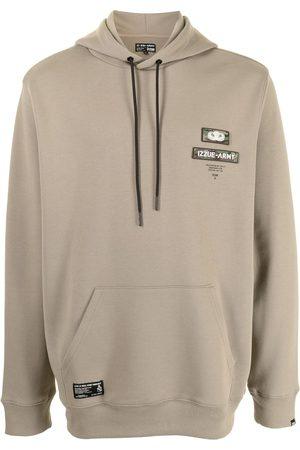 Izzue Men Sweatshirts - Slogan print hoodie
