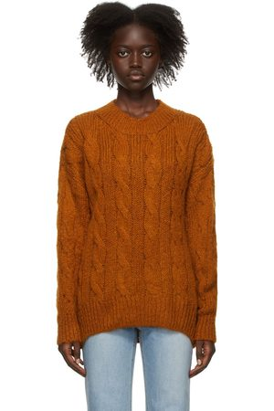 DRAE Kid Mohair Cable Knit Sweater