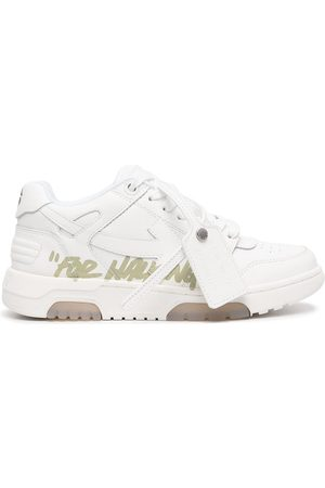 OFF-WHITE Safety-tag lace-up sneakers