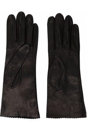 Manokhi Women Gloves - Slip-on leather gloves