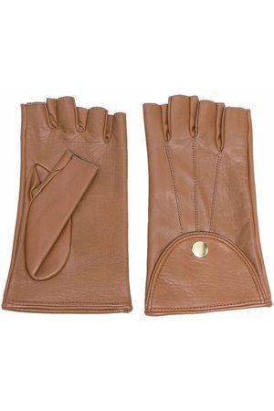 Manokhi Women Gloves - Fingerless leather gloves