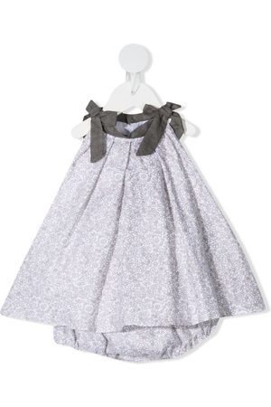 LA STUPENDERIA Baby Printed Dresses - Floral-print sleeveless dress