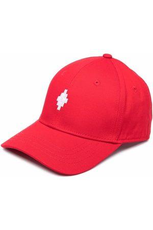MARCELO BURLON Girls Hats - Logo embroidered cap