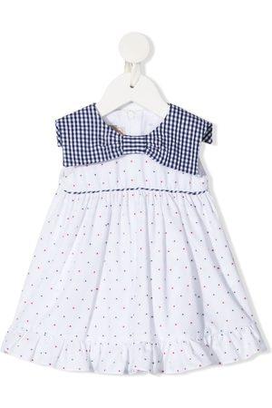 LA STUPENDERIA Baby Printed Dresses - Polka dot-print sleeveless dress