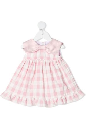 LA STUPENDERIA Baby Printed Dresses - Vichy check-print dress