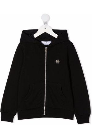 Philipp Plein Girls Hoodies - Teddy Bear logo printed hoodie
