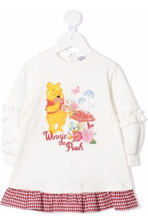 MONNALISA Baby Casual Dresses - Winnie-the-Pooh jumper dress