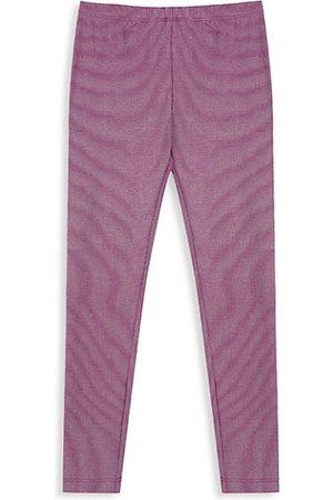 Peek Little Girl's & Girl's Foiled Knit Leggings