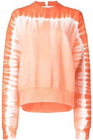 PROENZA SCHOULER WHITE LABEL Women Sweatshirts - Tie-dye sweatshirt
