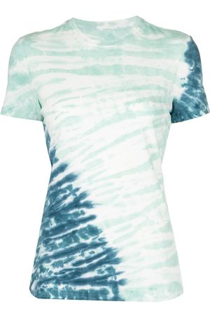 PROENZA SCHOULER WHITE LABEL Women Short Sleeve - Tie-dye cotton T-shirt