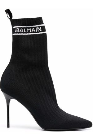Balmain Pointed-toe ankle boots
