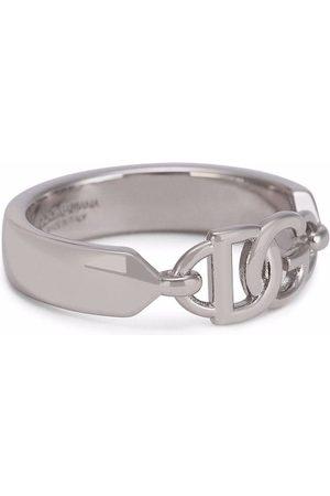 Dolce & Gabbana Logo-plaque ring
