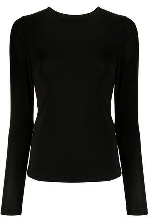 Rachel Gilbert Long-sleeved tonal jersey