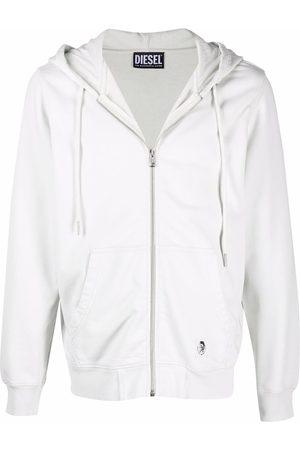 Diesel Zip-up cotton hoodie