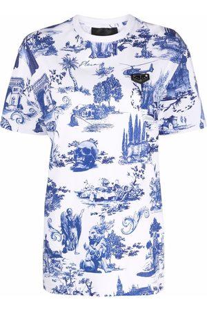 Philipp Plein Graphic-print cotton T-shirt