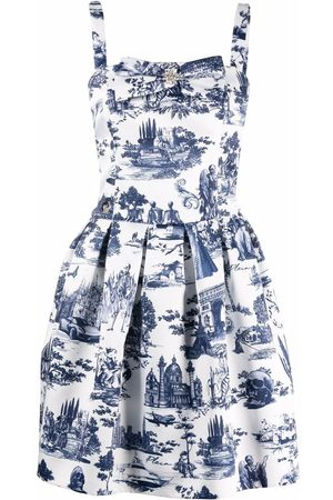 Philipp Plein En Plein Air print mini dress
