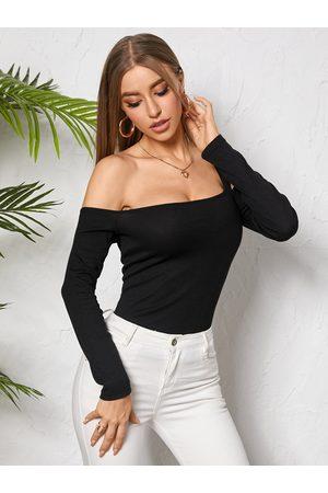 YOINS Sexy Cut Out Design One Shouler Knitwear