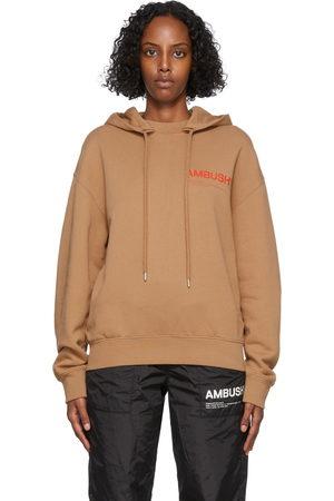 AMBUSH Beige Fleece Workshop Hoodie