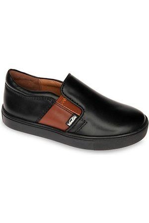 Venettini Boys Sneakers - Little Boy's Leather Slip-On Sneakers