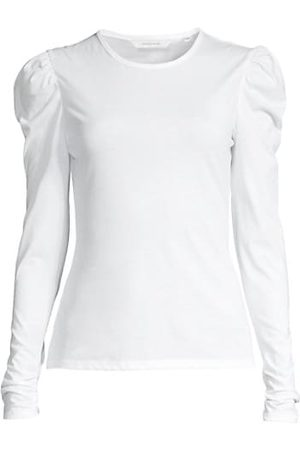 Rebecca Taylor Ruched Long-Sleeve Top