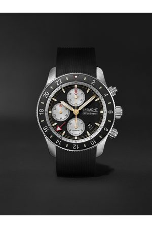 Bremont Men Watches - Supermarine Sport Automatic Chronograph 43mm Stainless Steel and Rubber Watch, Ref. No. S200