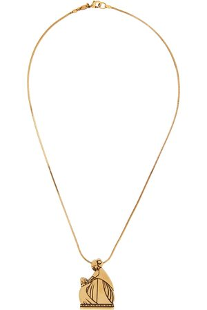 Lanvin Gold Mother & Daughter Necklace