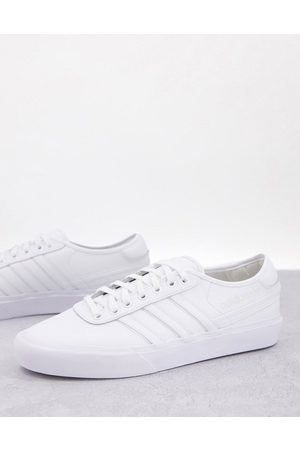 adidas Originals Delpala leather trainers in triple
