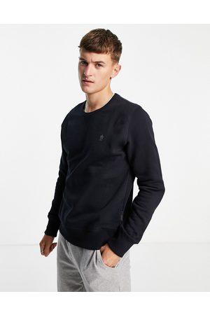 French Connection Men Sweatshirts - Crew neck sweatshirt in navy