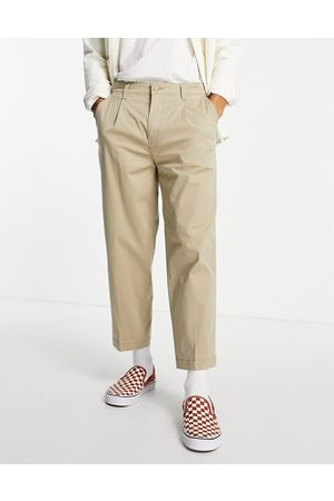 Levi's Levi's loose cropped chinos in stone-Neutral