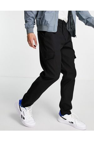 Selected Homme Slim tapered cargo trousers in