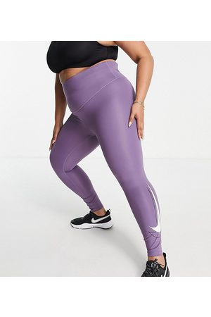 Nike Running Plus Swoosh Dri-FIT 7/8 leggings in