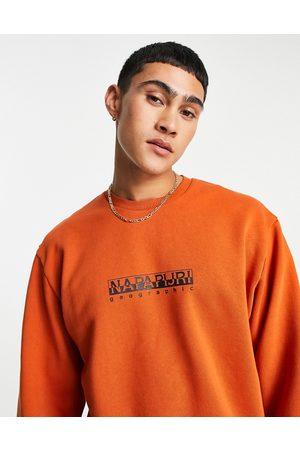 Napapijri Box sweatshirt in burnt