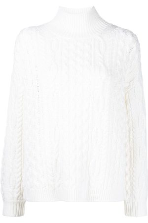 ALICE+OLIVIA Women Jumpers - Cable-knit jumper