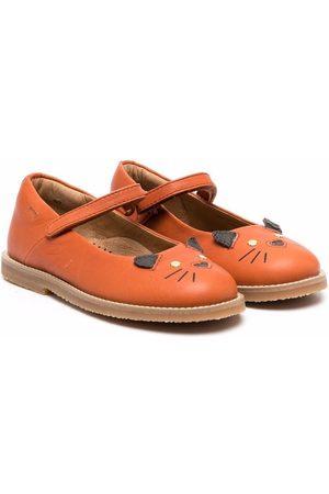 Camper TWS animal-motif ballerina shoes