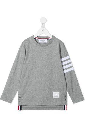 Thom Browne Jersey 4-Bar long sleeve T-shirt