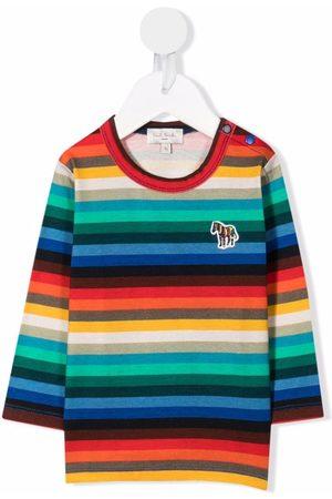 Paul Smith Stripe-print cotton T-Shirt