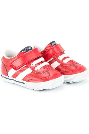 Miki House Boys Sneakers - Perforated lace-up sneakers