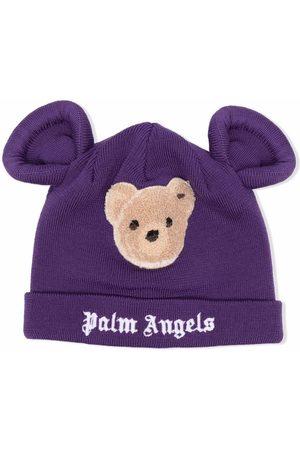 Palm Angels PALM ANGELS BEAR BEANIE BROWN