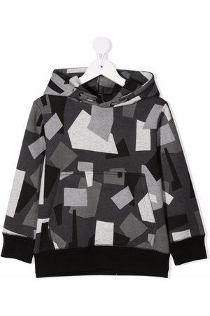 Stella McCartney Geometric camouflage hoodie