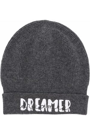 Brunello Cucinelli Dreamer-print ribbed-knit hat