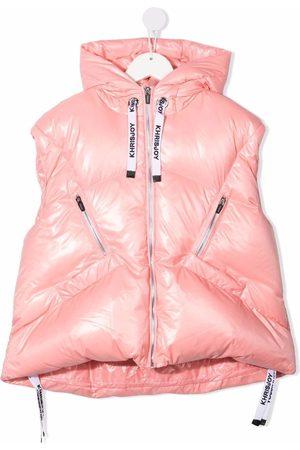Khrisjoy KIDS Girls Gilets - Puffer gilet jacket