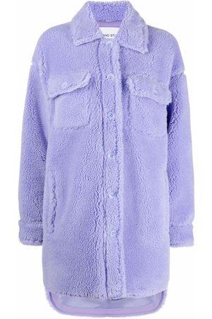 Stand Studio Sabi fleece shirt-jacket