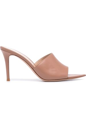 Gianvito Rossi Women Sandals - Alise leather mules