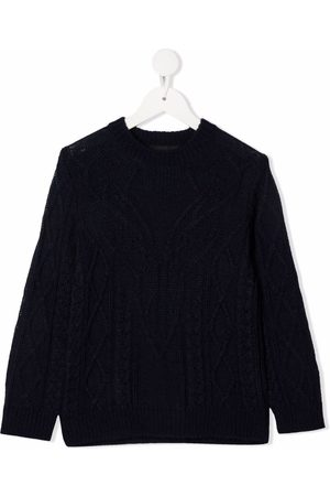 Dsquared2 Cable-knit crew-neck jumper