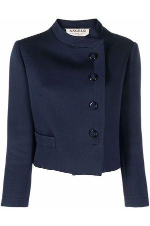 A.N.G.E.L.O. Vintage Cult 1960s mock neck off-centre fastening jacket
