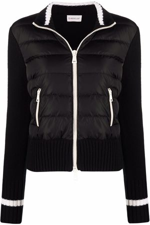 Moncler Padded-front cardigan