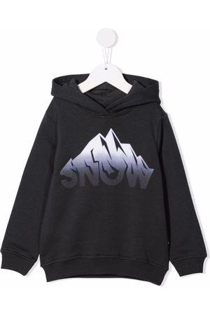 Il gufo Graphic-print cotton hoodie