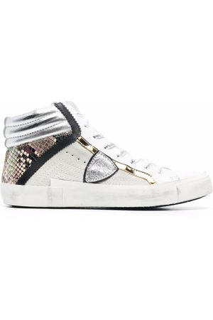 Philippe model Prsx Python Mixage high-top sneakers